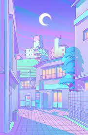 Aesthetic Purple Anime Wallpapers ...