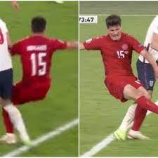 England vs Denmark: Harry Kane denied ...