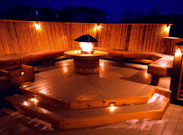 deck accent lighting. Deck Falme Accent Lighting