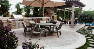 Small Picture Concrete Patio Patio Ideas Backyard Designs and Photos The