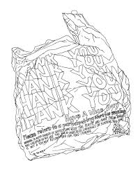 Plastic Bag Thank You the very good boy sean of the south on warning notice template