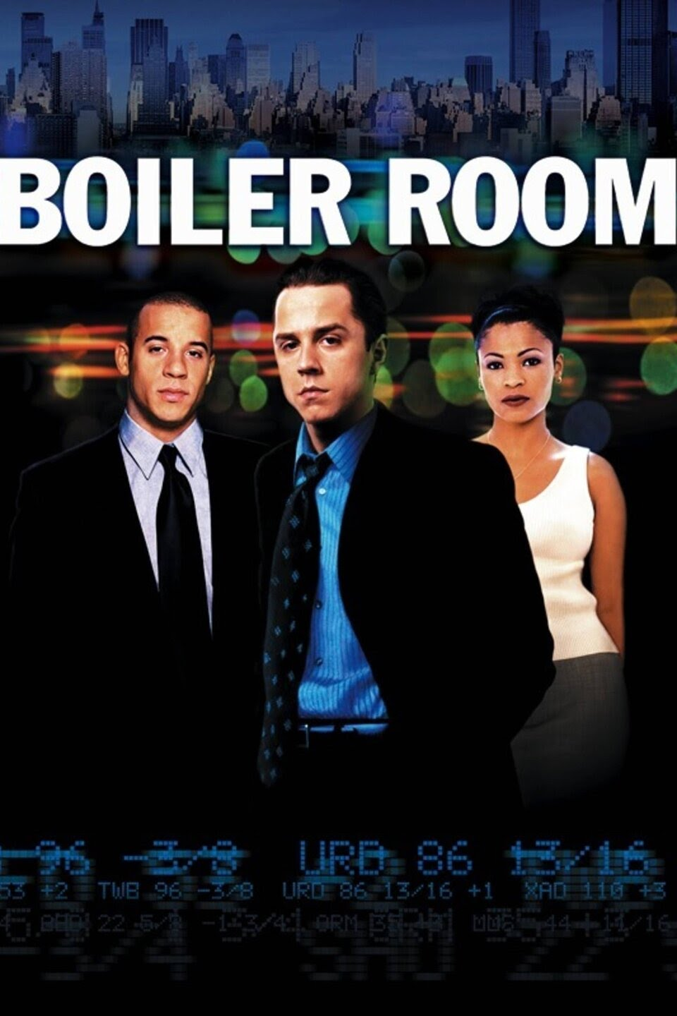 Poster for The Boiler Room - with 3 people in it. Two men and a woman. Number six of the top films every entrepreneur needs to watch.