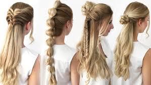 4 Frisuren Mit Wow Effekt Einfach Schnell Thebeauty2go Youtube