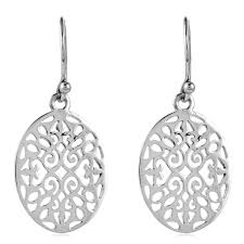 southern gates clic oval scroll earrings