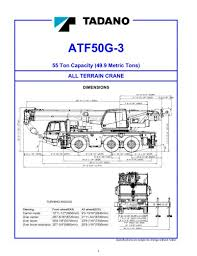 All Terrain Cranes Tadano Faun Pdf Catalogs Technical