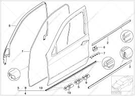 Trim and seals for door front for bmw x5 e53 x5 3 0d m57 sav bmw suspension diagram bmw online catalog bmw x5 vacuum diagram on bmw x5 door parts diagram