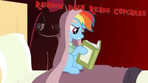 cupcakes mlp rainbow dash. Simple Cupcakes Rainbow Dash Reads Cupcakes To Mlp P
