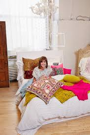 what is your abc dream bed my dream bed is layered with fun a mix of patterns colors and textures and has a ton of pillows of course