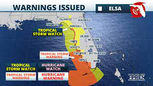 Elsa On Track To Bring Tropical Storm ...