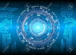 Circle And Circuit Technology Background Abstract Technology