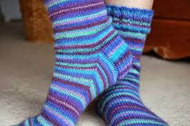 Knitted Sock Patterns Stunning Winwick Mum Basic 48ply Sock Pattern And Tutorial Easy Beginner