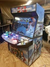 4 Player Arcade Cabinet Kit 4 Player 50 Led Home Arcade Game Arcadesrfun