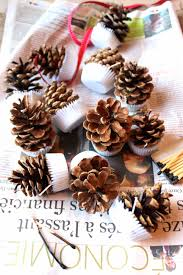 Pine Cone Candles Homemade Pinecone Firelighters