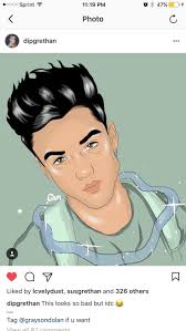 28 collection of ethan dolan cartoon drawing