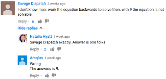 fortunately there is nothing wrong with mathematics if you could prove that this simple equation has two answers you may just undermine the whole