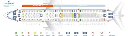 Cathay Pacific Flight 888 Seating Chart 38 Rational Airbus A330 300 Seating
