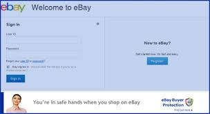 ebay sign in. Delighful Ebay EBay UK Posted A New Message To Users On The Announcement Board This  Week Inform Members It Was Testing Design For Its Signin Page To Ebay Sign In