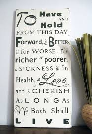 149 best vows images on pinterest wedding vows, dream wedding Wedding Vows Plaque wedding vows plaque would be cute in several frames surrounded by pctures wedding vow plaque