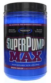 gaspari nutrition super pump max pre workout supplement 40 servings non habit