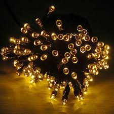 solar string lights. Modren Lights Solar Christmas Party String Lights  Yellow  On T
