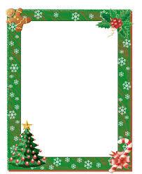 Christmas Photo Frames Templates Free Christmas Clipart Borders Free Printable