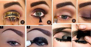 bright shade dramatic eye makeup remember seeing that