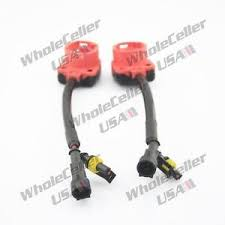 2x xenon hid bulb d2s d2r d2c headlight wire harness extension image is loading 2x xenon hid bulb d2s d2r d2c headlight