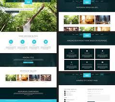 Free Responsive Website Templates Interesting 28 Free Amazing Responsive Business Website Templates