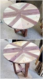 Duplicate this wooden pallet coffee table that has been done with diagonal filling of pallet slats, and it also comes with an elegant bottom shelf! Low Budget Wood Shipping Pallets Diy Projects Diy Pallet Creations