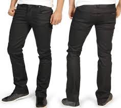 Nudie Slim Jim Size Chart Details About New Nudie Mens Slim Fit Raw Denim Jeans Slim Jim Dry Black Coated