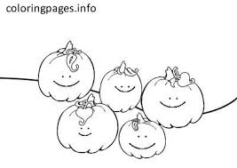 Small Picture PUMPKIN Coloring Pages PDF Free coloring pages