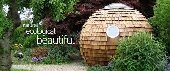 garden pod office. natural ecological beautiful garden pod office