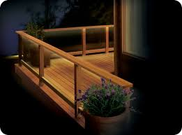 eco friendly diy deck lighting project using the 6 ft led ribbon light indoor outdoor kit from cabled available at the home depot