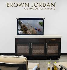 outdoor kitchen producer adds entertainment centers