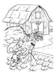 Kleurplaten Paradijs Kleurplaat Mickey Mouse En De Zware Jongens