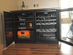 Cabinet With Wine Cooler Built In Beverage Center Simply Swider