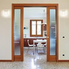 double sliding cavity door system