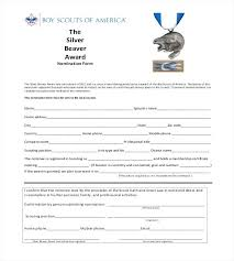 Employee Recognition Form Template Employee Recognition Nomination Form Template Unique Promotion For