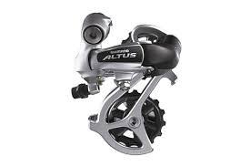 <b>Переключатель задний Shimano Altus</b> RD-M310, 7/8 скоростей ...