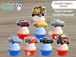 Cars Birthday Decor Disney Themed Ideas Bernettaknighten