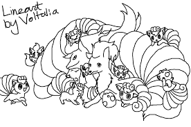Pokemon Vulpix Coloring Pages At Getdrawingscom Free For Personal