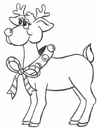 Small Picture Printable Reindeer Coloring Pages Coloring Me