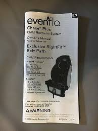 evenflo car seat owners manual manual