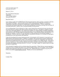 6 Engineering Intern Cover Letter Wsl Loyd