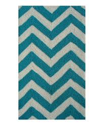 love this product turquoise white chevron rug