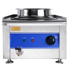 commercial food warmer portable steam table countertop 1200w w 2 pots soup station kitchen 3