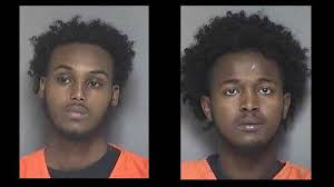 photos olmsted county detention center shooting suspects idris haji mohamed and abdi abukar rochester