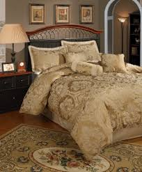 gold comforter sets king. beautiful sets central park halifax gold california king 7piece comforter set throughout sets u