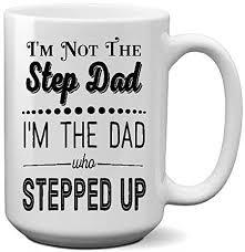 Inicia tu prueba de amazon prime gratis. Amazon Com Step Dad Father Coffee Mug Dad Who Stepped Up Christmas Birthday Father S Day Kitchen Dining