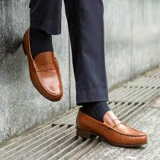 Light Brown Loafers Formal Penny Loafer Jpn Light Brown